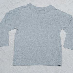 Grey long sleeve shirt 2T